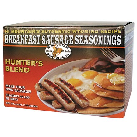 Hi Mountain Breakfast Sausage Seasonings - Hunter's Blend, 6 -