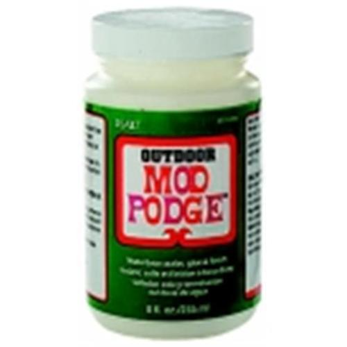 Mod Podge Non-Toxic Outdoor Glue Sealing Kit, 8 Oz.  Jar