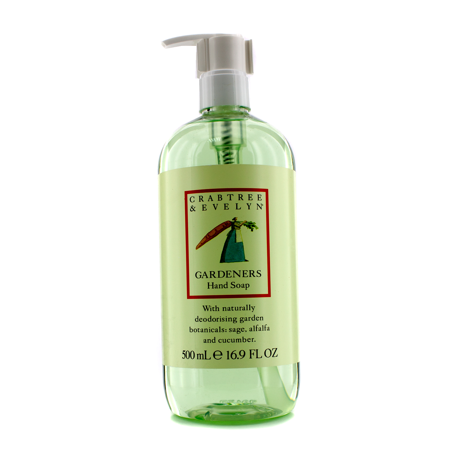 Crabtree Evelyn Gardeners Hand Soap 500ml169oz Walmartcom