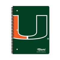 MIAMI HURRICANES CLASSIC 1-SUBJECT NOTEBOOK
