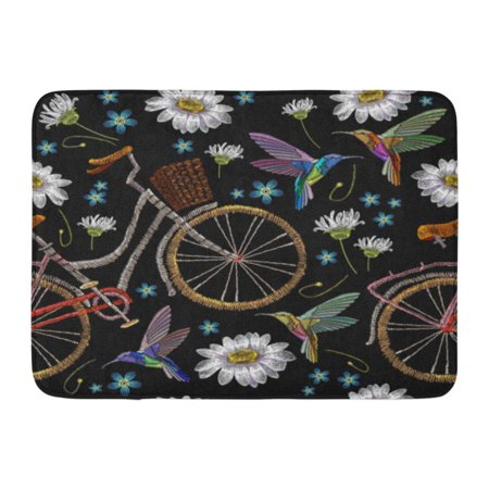 Kdagr Colorful Bicycle Chamomiles Flowers And Humming
