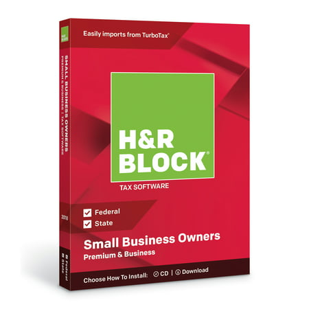 H&R Block Tax Software Premium & Business 2018 ()