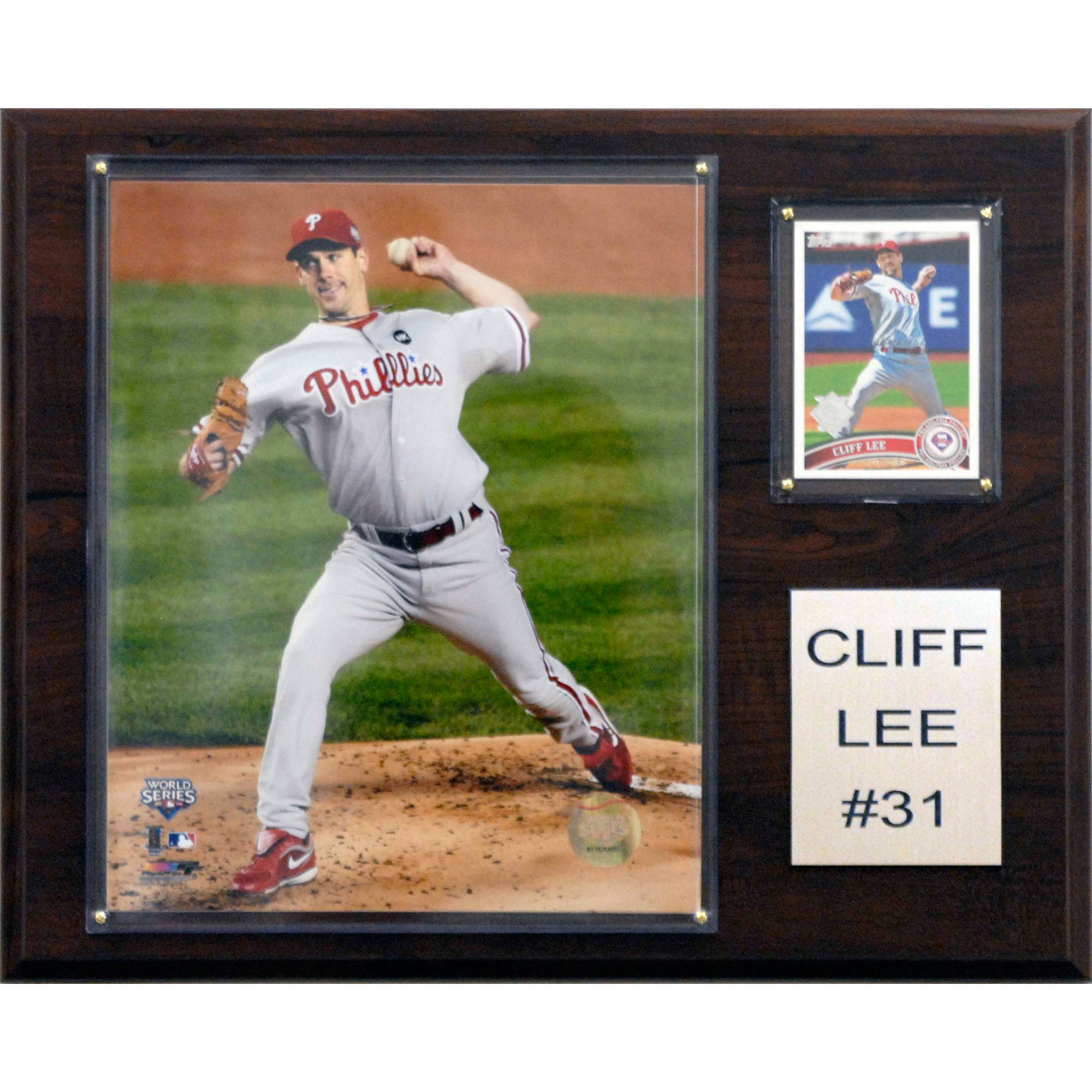 C&I Collectables MLB 12x15 Cliff Lee Philadelphia Phillies Player Plaque