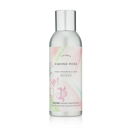 Thymes Kimono Rose Home Fragrance Mist 3oz.