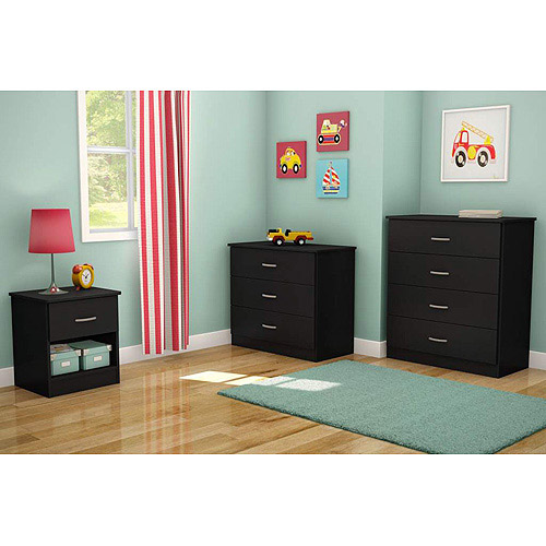 South Shore Smart Basics 3-Piece Dresser Set, Multiple Finishes
