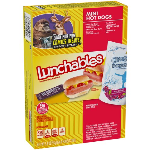 Lunchables Mini Hot Dogs Lunch Combination, 3.3 oz