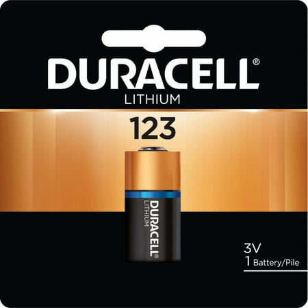 Duracell Duracell Procell Batteries, Lithium Cell, 3 V, 123