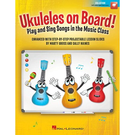 Ukuleles on Board! : Play and Sing Songs in the Music Class with Step-By-Step Projectable Lesson - Class Halloween Songs