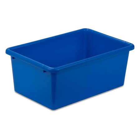 Honey Can Do Lightweight Small Plastic Bin, - Plastic Book Boxes