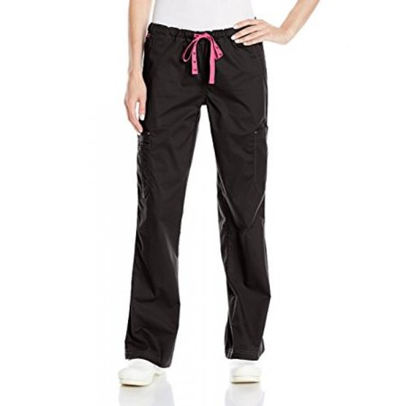 Med Couture Women's 'MC2' Layla Scrub Pant, Black, X-Small