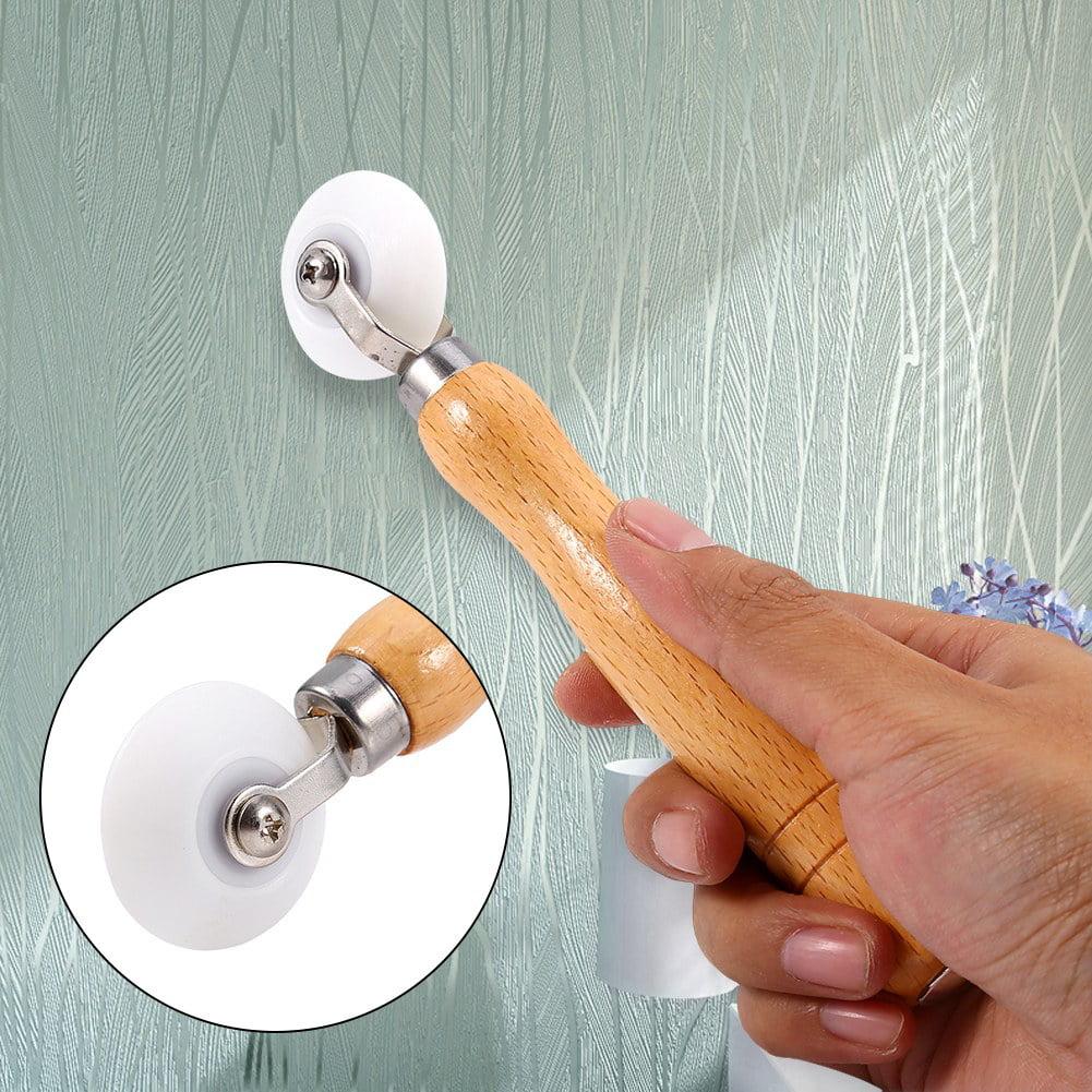 Metal Hand Wallpaper Seam Roller Home Decoration Wall Paper DIY Tool