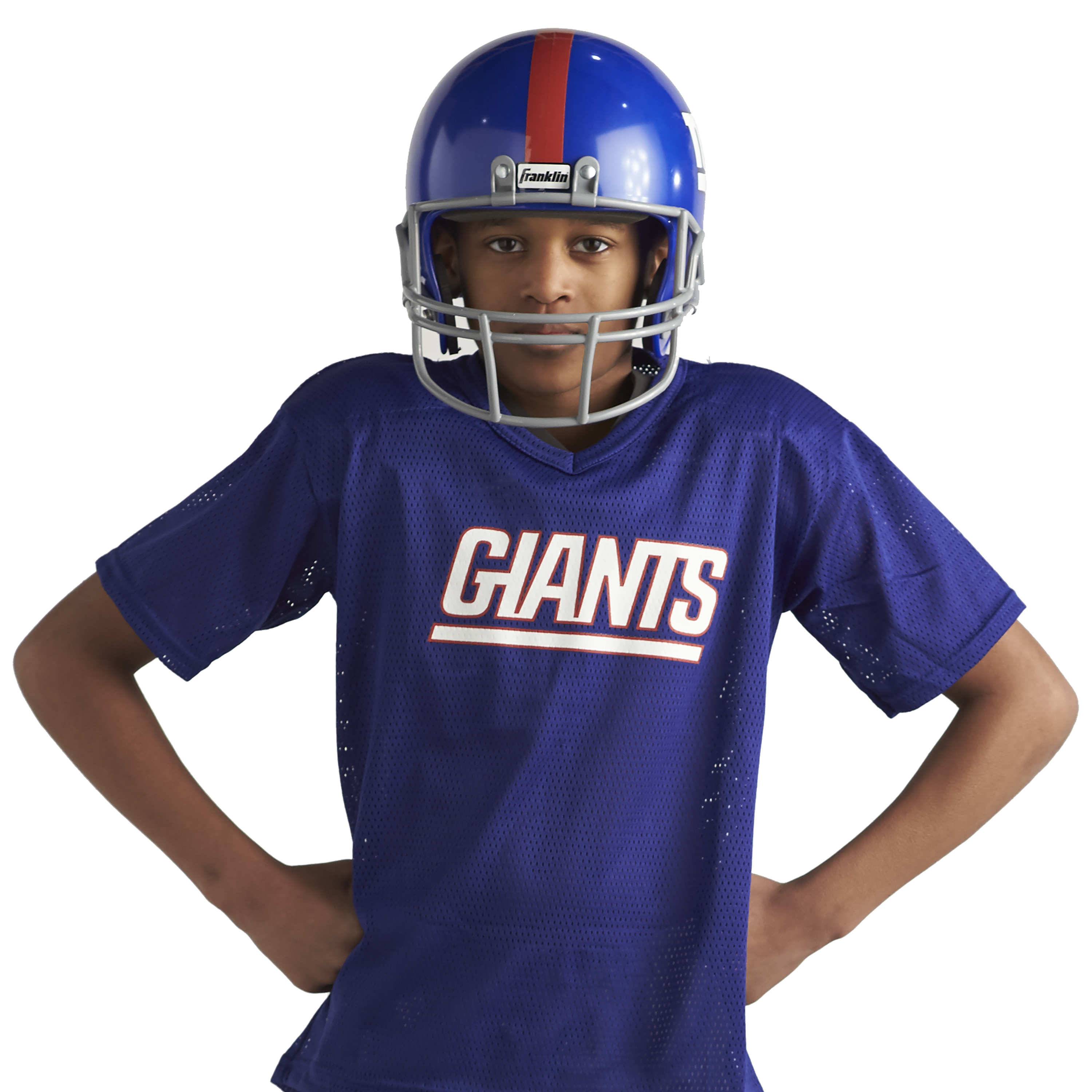 85a5300a Franklin Sports NFL New York Giants Youth Licensed Deluxe Uniform ...