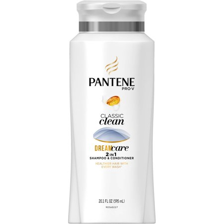 Pantene Pro-V Classic Clean 2in1 Shampoo and Conditioner, 20