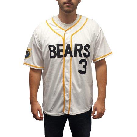 e25dd1340 Kelly Leak #3 Bears Baseball Jersey Bad News Costume Movie Uniform Chico's  Bail - Walmart.com