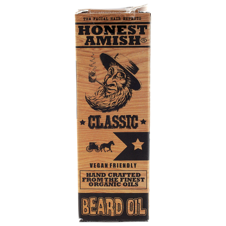 Honest Amish Classic Beard Oil, 2 fl oz