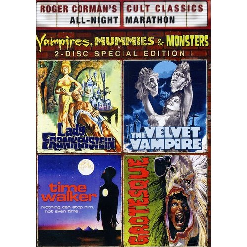 Roger Corman's Cult Classics: Vampires, Mummies & Monsters Collection (Widescreen)