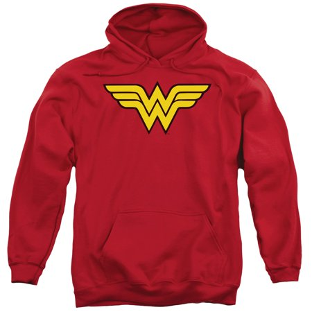 Dc Mens Sweatshirt (Dc Wonder Woman Logo Mens Pullover)