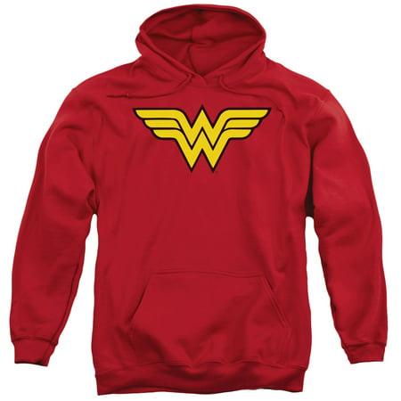 Dc Wonder Woman Logo Mens Pullover Hoodie Dc Star Pullover Hoodie