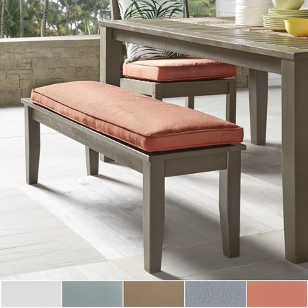 Marvelous Inspire Q Yasawa Wood Grey 55 Inch Patio Cushioned Dining Theyellowbook Wood Chair Design Ideas Theyellowbookinfo
