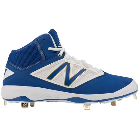 7c4285879fad New Balance Men's 4040 V3 Mid Metal Baseball Cleats (Royal Blue/White, 16)  - Walmart.com