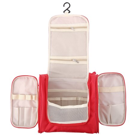 (Multifunction Hanging Toiletry Bag Travel Cosmetic Bag Accessory Make Up Organizer For Women)