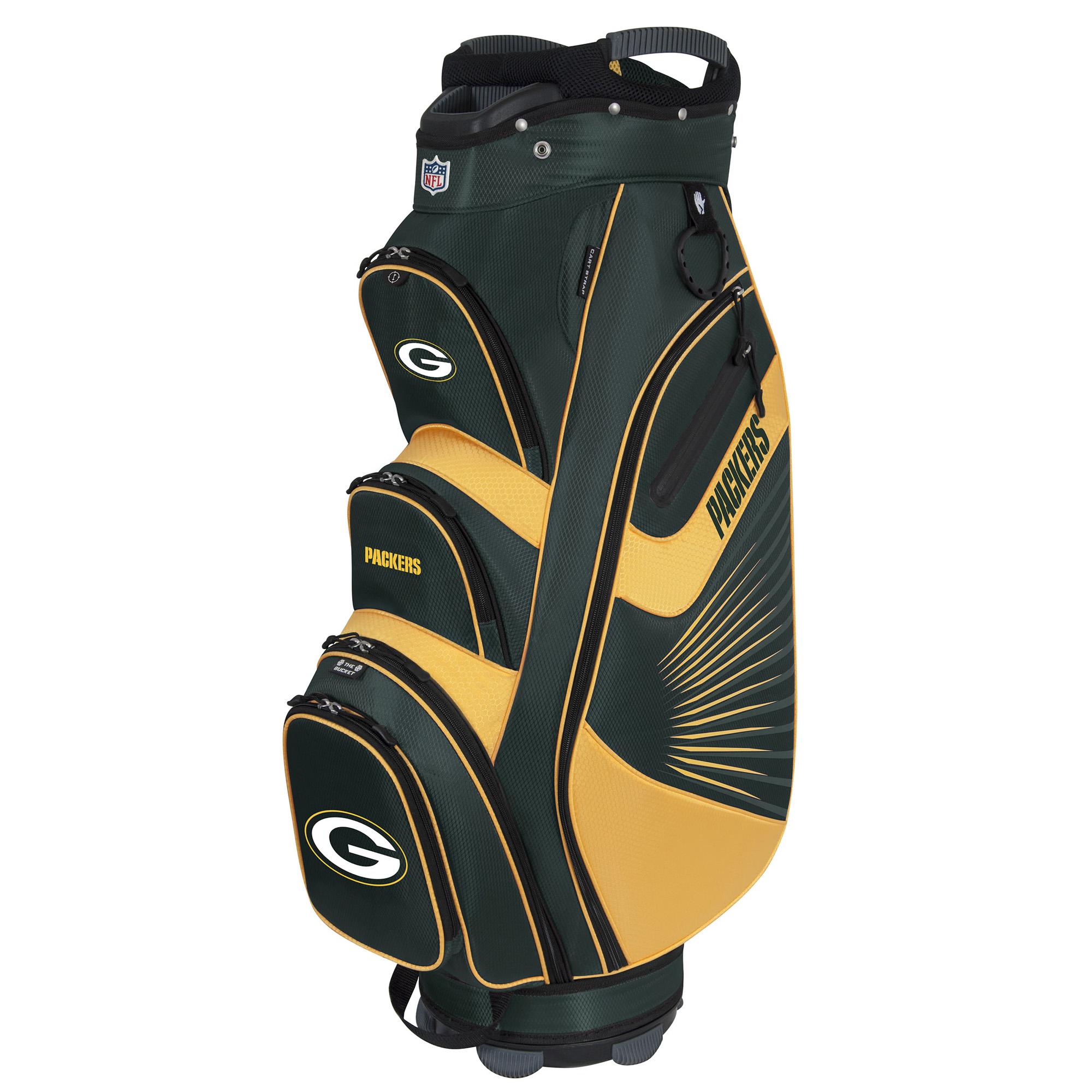 Green Bay Packers The Bucket II Cooler Cart Bag - No Size