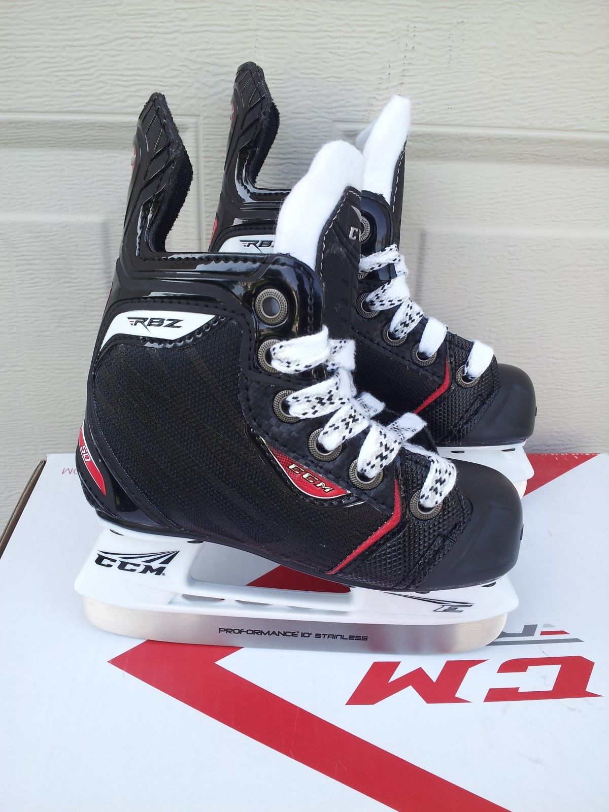 CCM RBZ 50 Youth Ice Hockey Skates by