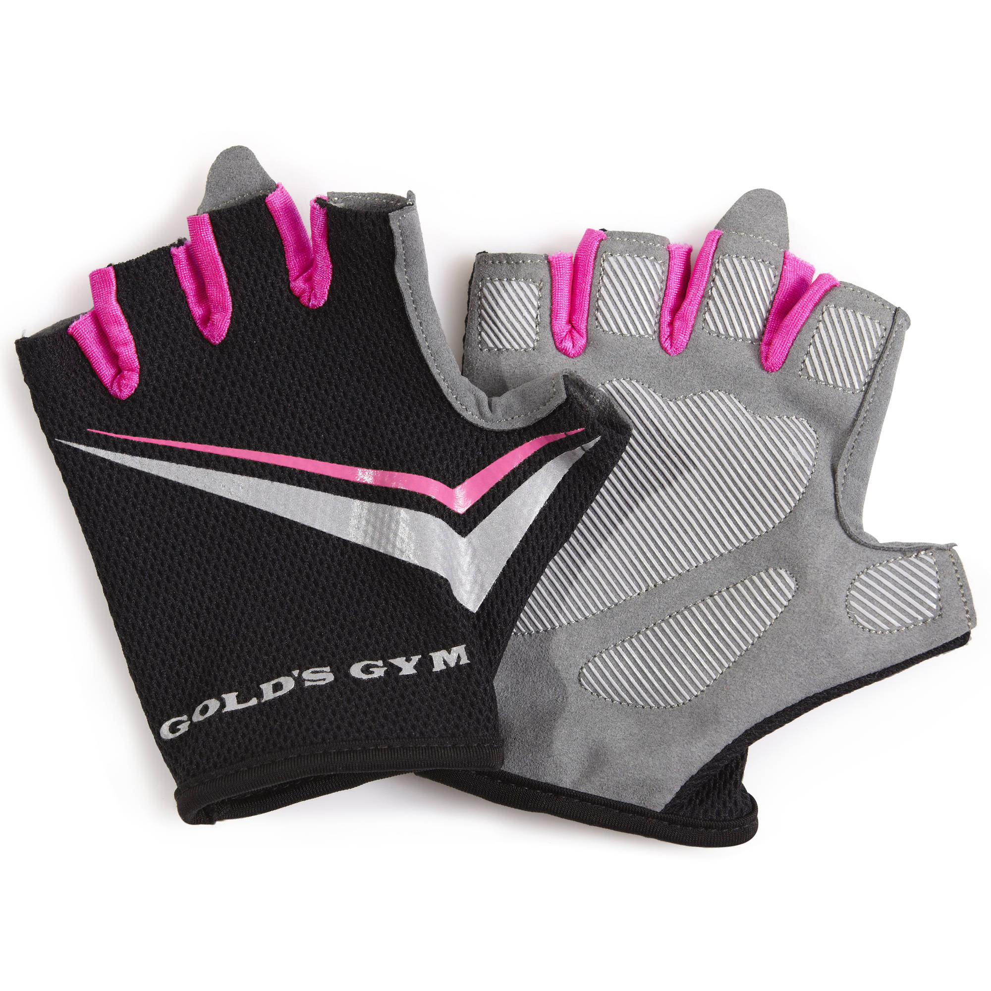 Gold's Gym Women's Tacky Gloves, Pink | Strength Training Accessories