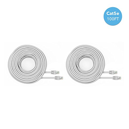 Amcrest 2 Pack 100 Feet Loose Ethernet Cables 2pack