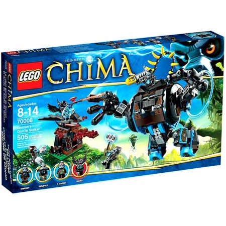lego chima gorzans gorilla striker play set