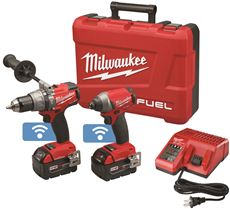 Milwaukee Electric MILWAUKEE M18 FUEL HAMMER DRILL AND 1/...