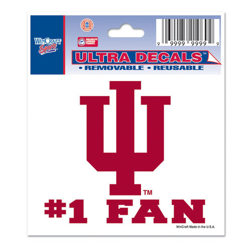 3x4 Multi Use Decal Indiana