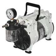 WELCH 2561B-50 Piston Vacuum Pump,1/3 HP,12in.H