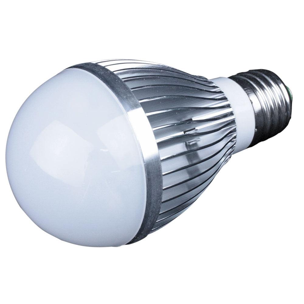 LUNASEA WHITE LED BULB E26 SCREW BASE 12V 5W 380 LUMENS
