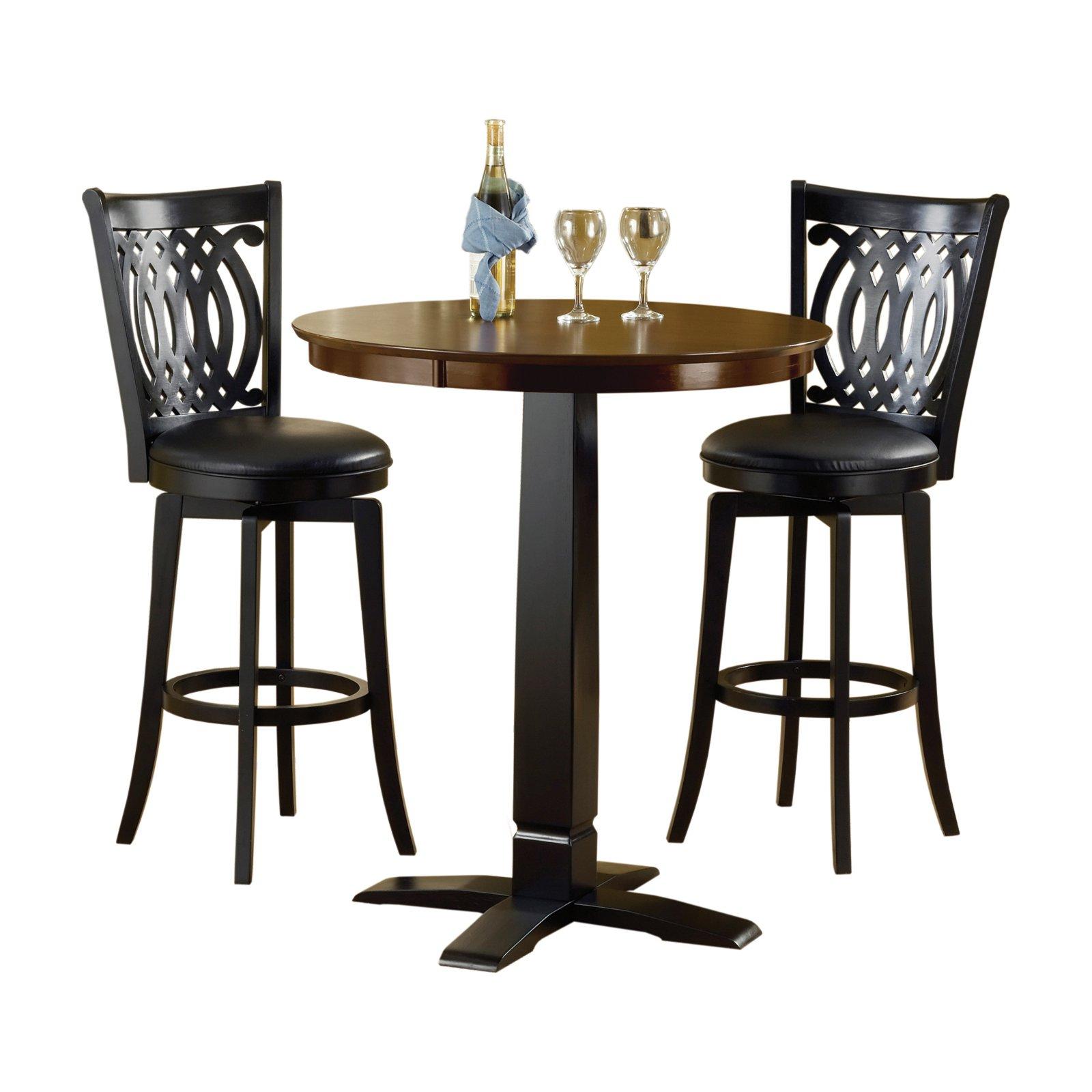 Hillsdale Furniture Van Draus 3 Piece Pub Table Set