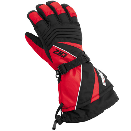 Castle X Racewear CR2 Mens Snowmobile Gloves Red
