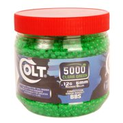 Colt .12 Airsoft BB Ammo, 6mm, 5000 Count