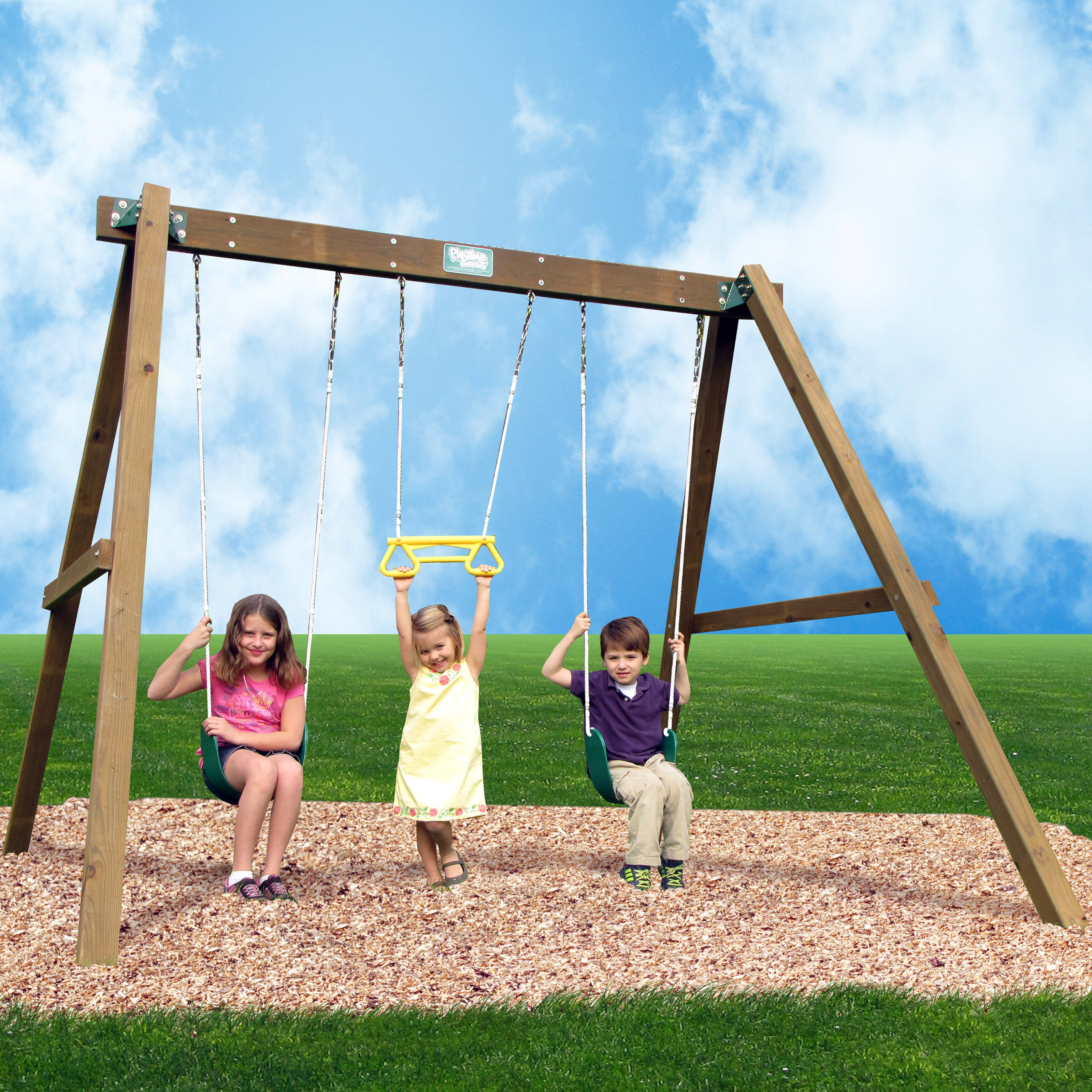 Creative Playthings Classic Swing Set