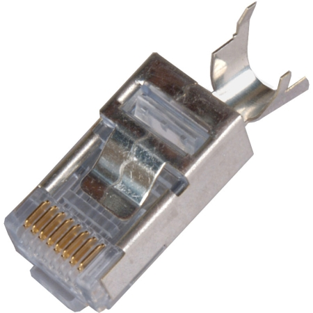 Emerson Network Power - 8 pin RJ-45 Conn for Round Shielded Solid Cable