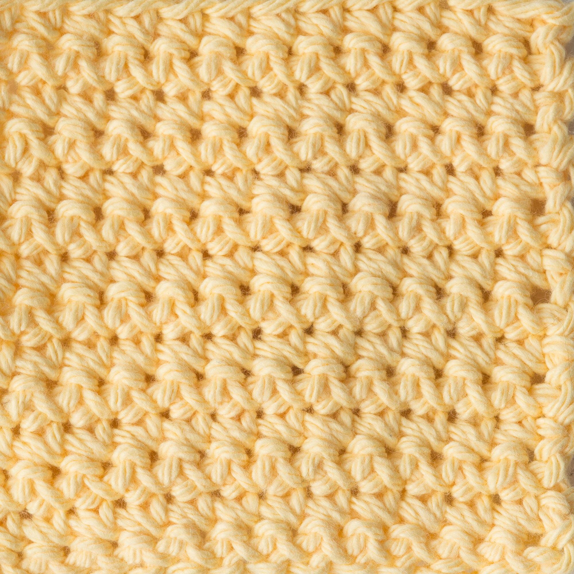 Single Ball Yellow 14 Ounce Cone Lily Sugar N Cream Yarn