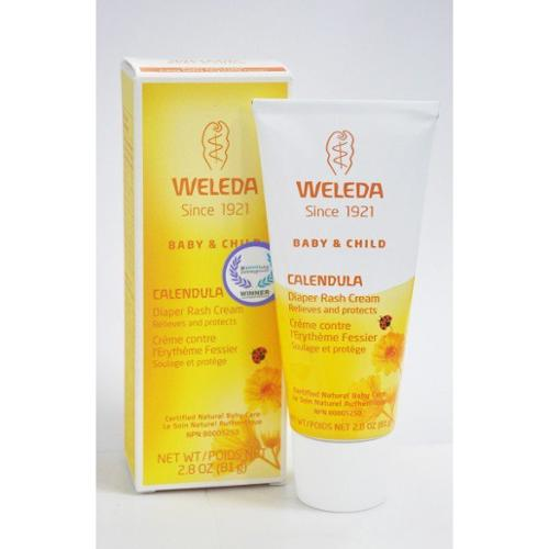 Calendula Diaper Rash Cream Weleda 2.8 oz Cream