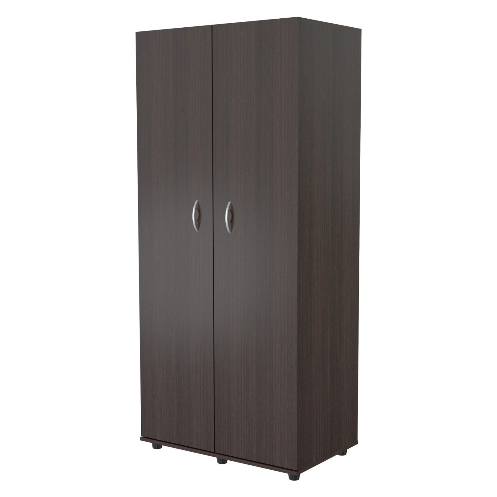 Inval Two Door Wardrobe Armoire, Espresso-Wengue Finish by Inval