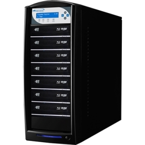 SHARKBLU BLU-RAY DVD CD USB 3.0 1:7 DISC DUPLICATOR HDD PIONEER