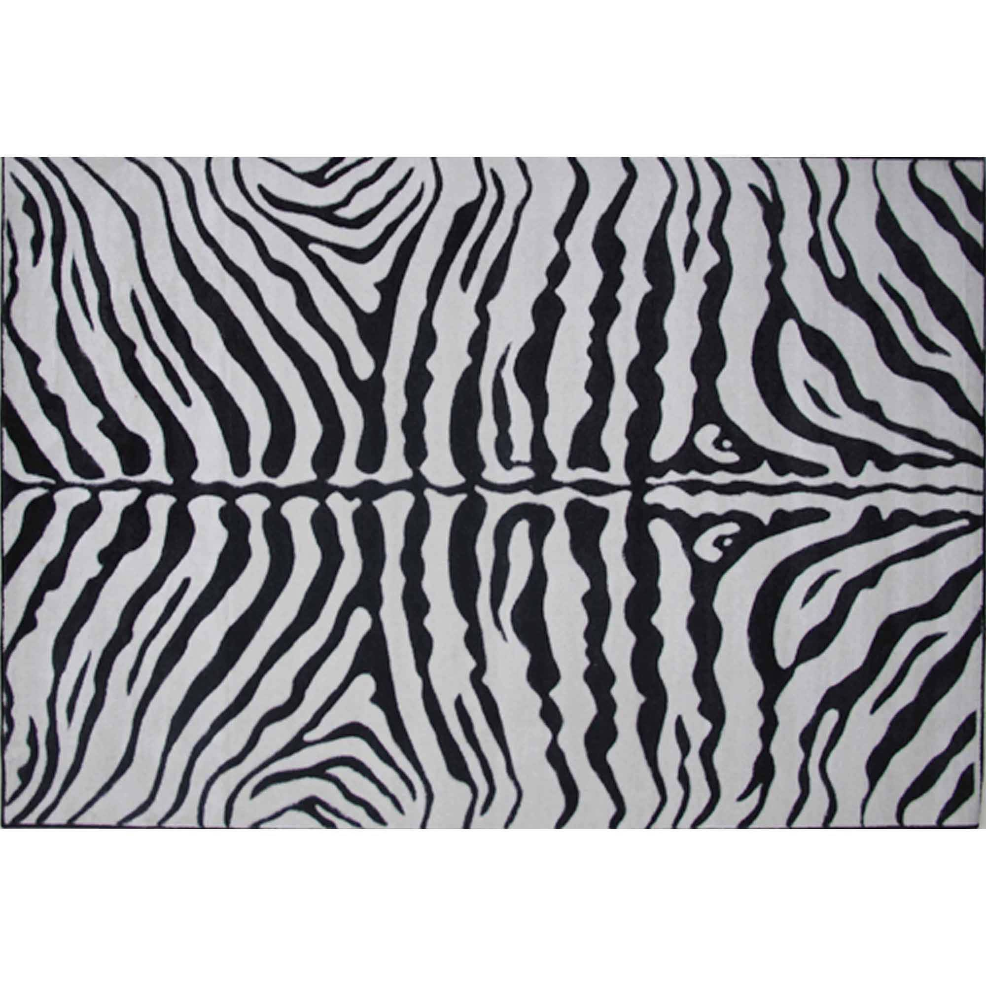 Fun Rugs Zebra Skin Kids Rugs