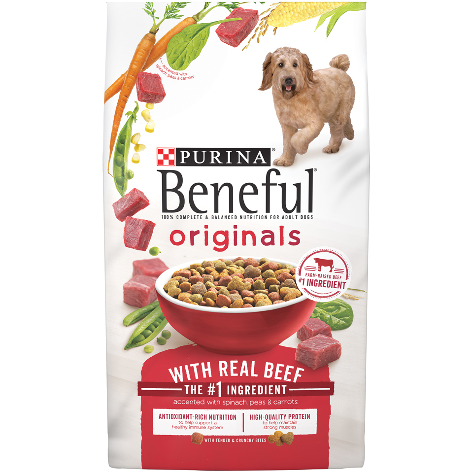 Purina Beneful Originals With Real Beef Adult Dry Dog Food - 3.5 lb. Bag