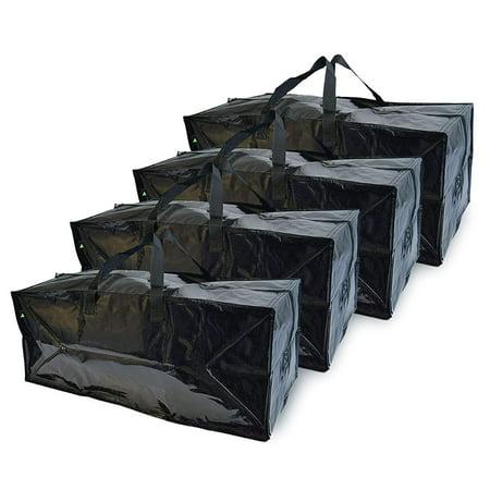 Prime Line Packaging Frakta Storage Bag,Extra Large Back Pack 28x14x13- Set of 4