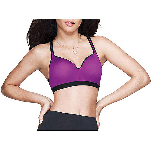 Maidenform Sweet Nothings Active Wirefree Push-Up Sport Bra Style 8436