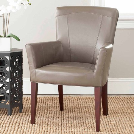 Safavieh Dale Bicast Leather Arm Chair, Multiple Colors ()