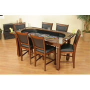 Burlington 7-Piece Convertible Game Table & Chairs Set