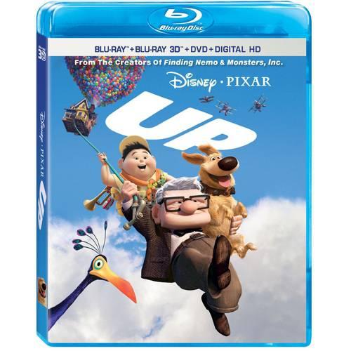 Up (Blu-ray + Blu-ray 3D + DVD + Digital HD)